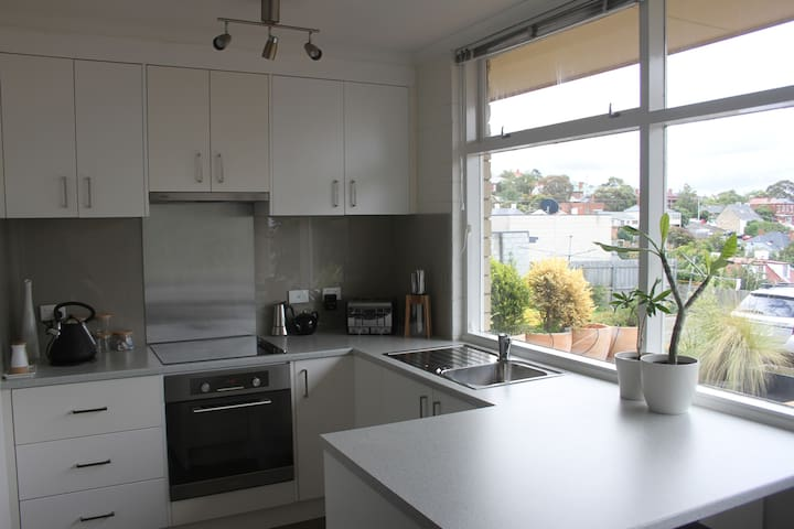 City Doorstep Apartment - West Hobart - Apartemen