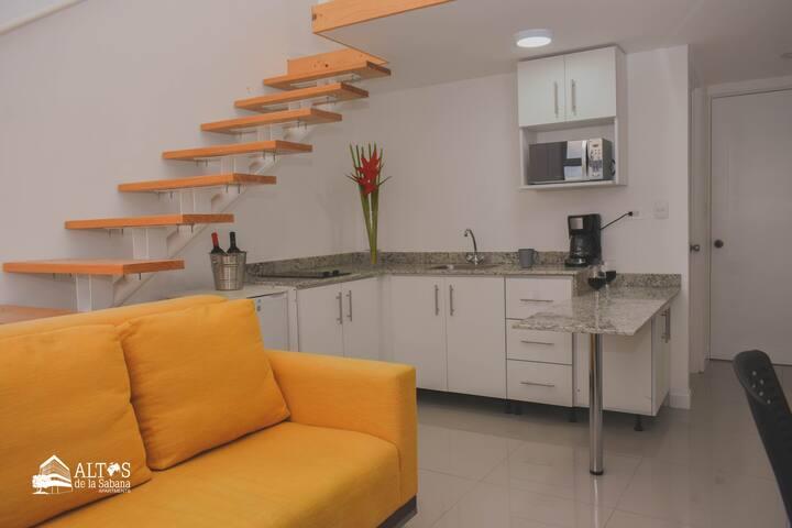 Apartamento tipo Estudio - 1 cama