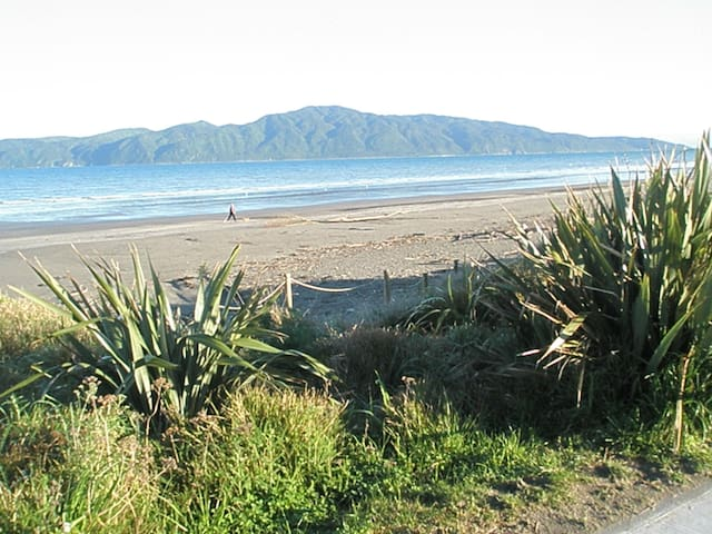 A comfortable home a stone's throw from the beach - Paraparaumu - Bed & Breakfast