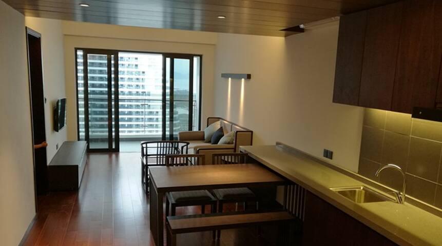 好好珍惜每一次度假! 选择拥有罕见、无敌、外海海景的超5星级檀悦豪生温泉度假酒店公寓 - Huizhou Shi