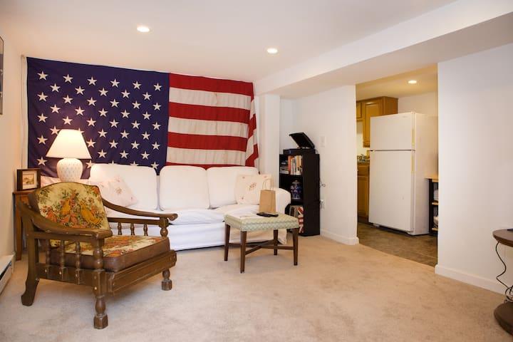 Clean, Comfortable, Convenient English basement!