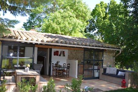 Romantisch genieten op het franse platteland - Laurac - Kulübe