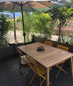 Appartement cosy dans cadre verdoyant