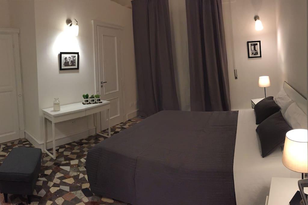 Camera matrinoniale con bagno privato