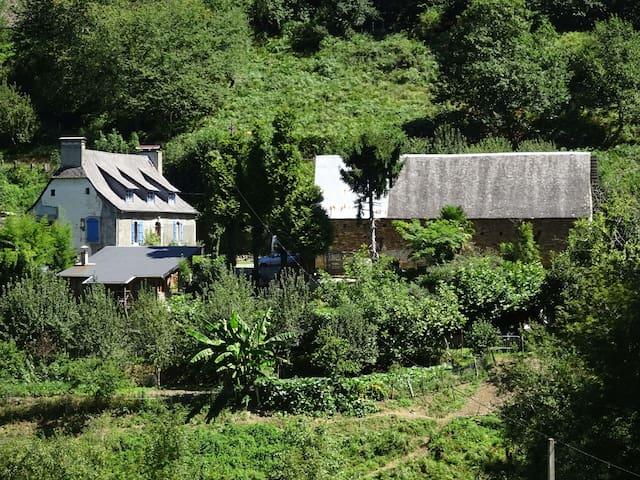 Gîte dans une vallée préservée des Pyrénées