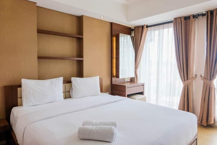 Trendy & Convenient Studio Bintaro Plaza Apartment