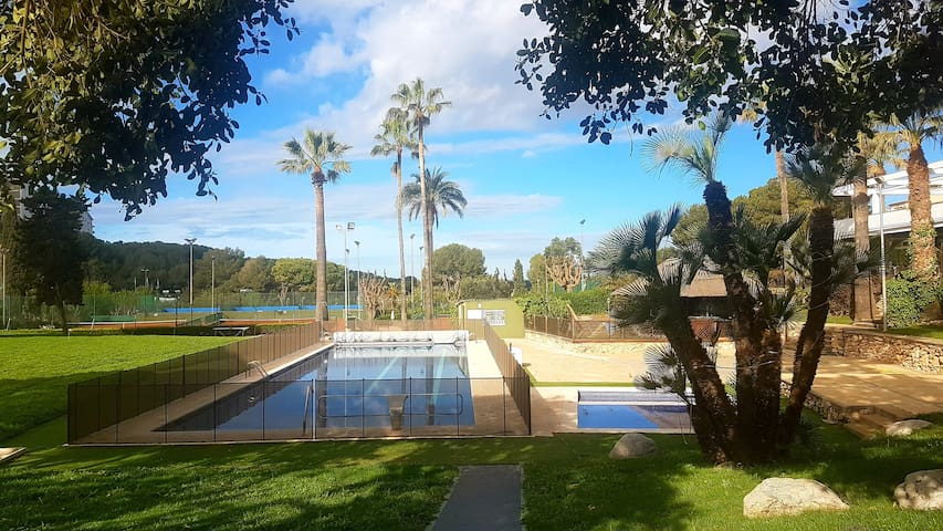 Apartment in Vallpineda-Sitges