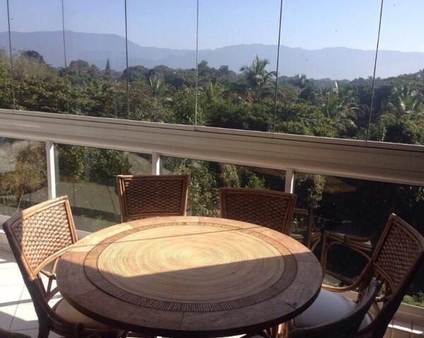 Vista da varanda gourmet é para a serra !