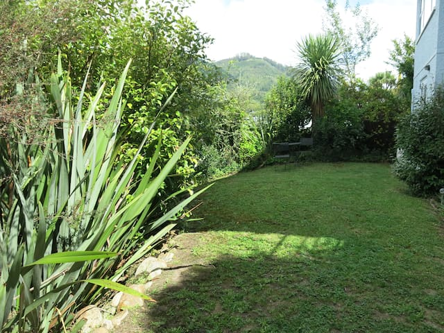 Private lawn for B&B guests to enjoy.