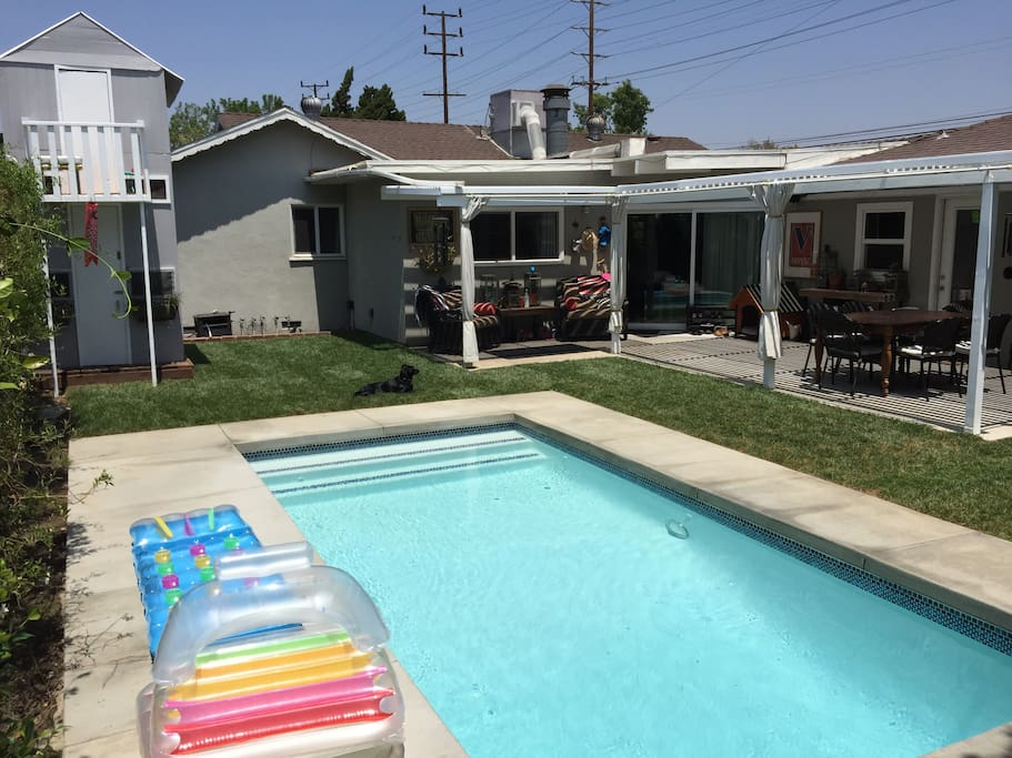 Pool and back patio