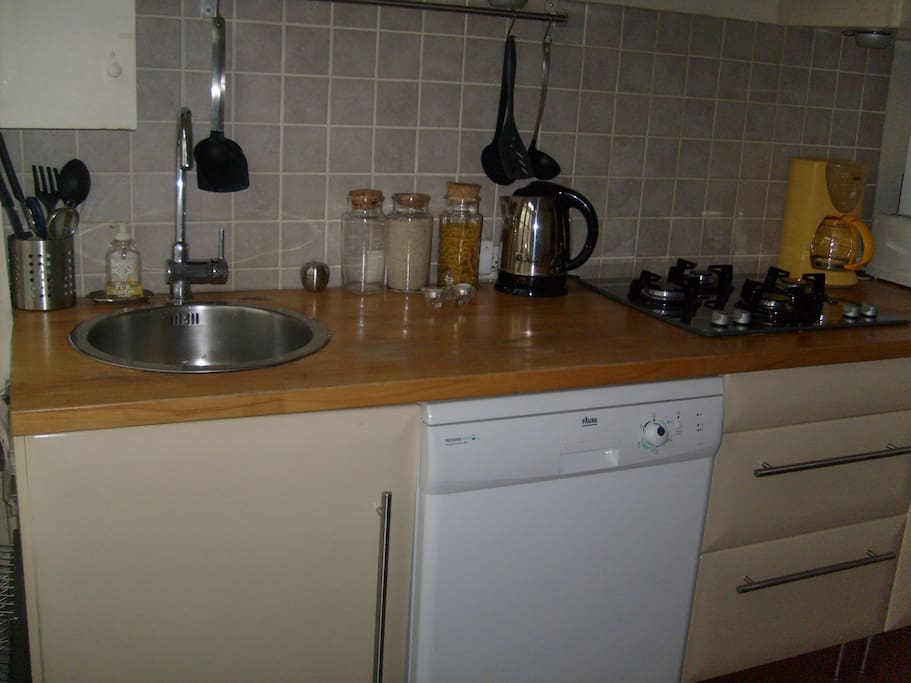 cuisine avec lave vaisselle
