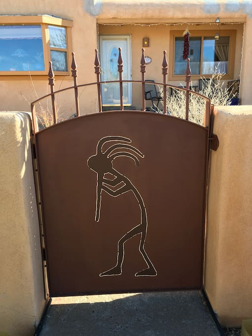 Kokopelli Entrance Gate