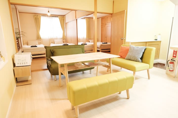 House for only 1 group & 5 Min Walk to Kokusai St!