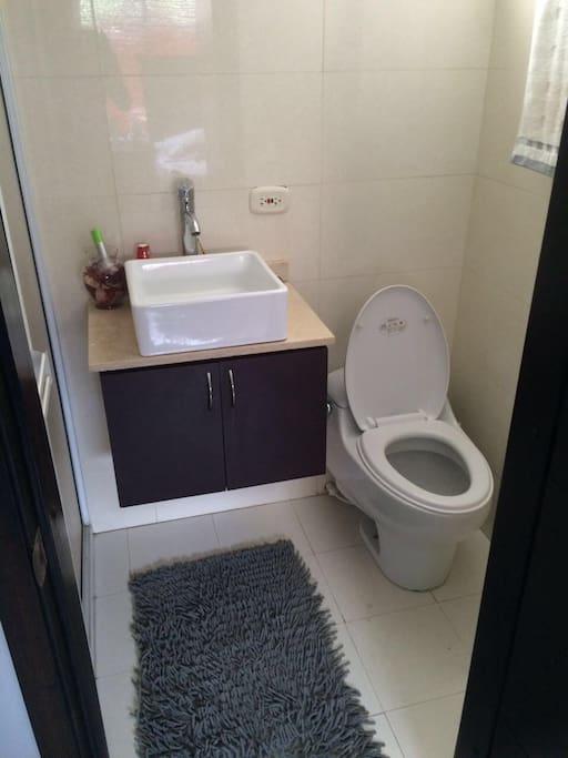 Baño privado.