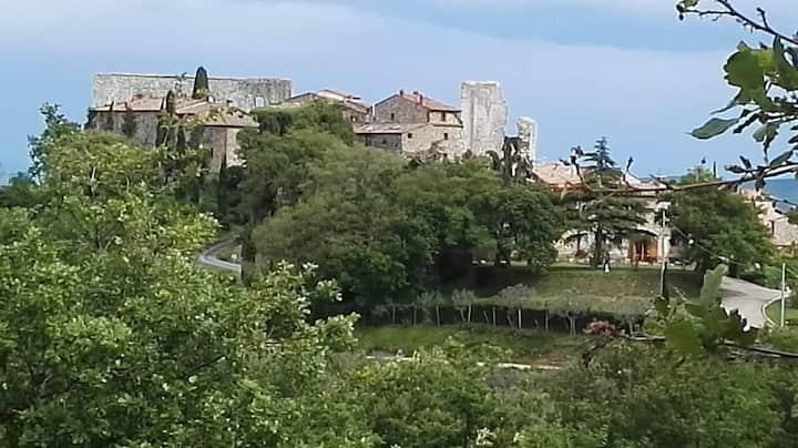 Medieval Castle-Tuscany Italy  Priv Condo Nr Siena