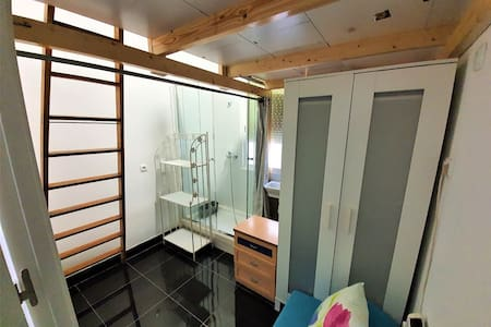 loft con baño privado al lado del centro