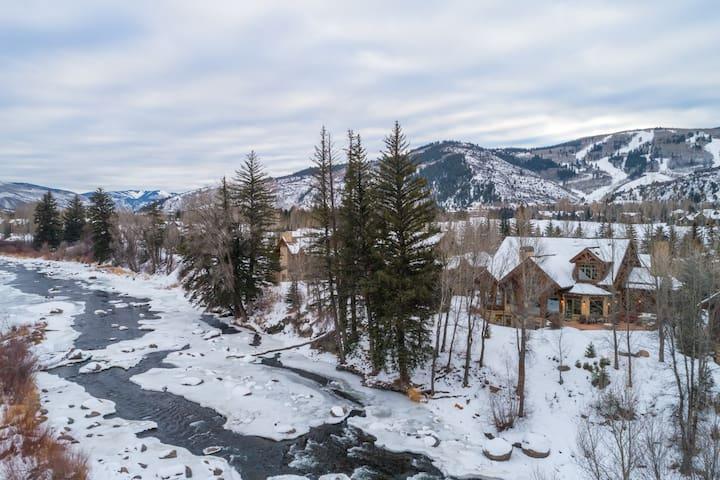Modern luxury ski home in Beaver Creek