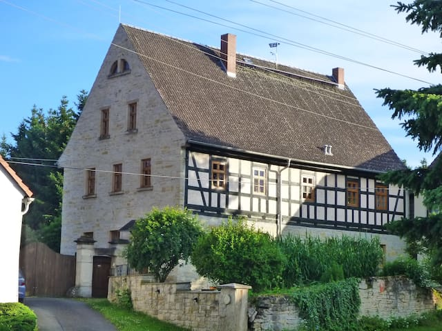 """Gästewohnung """"An der Försterei"""" nahe Gera/Zeitz - Haynsburg - Квартира"""