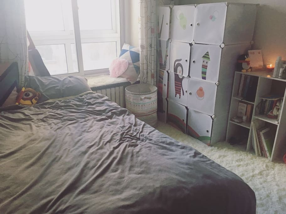 超软的床和地毯