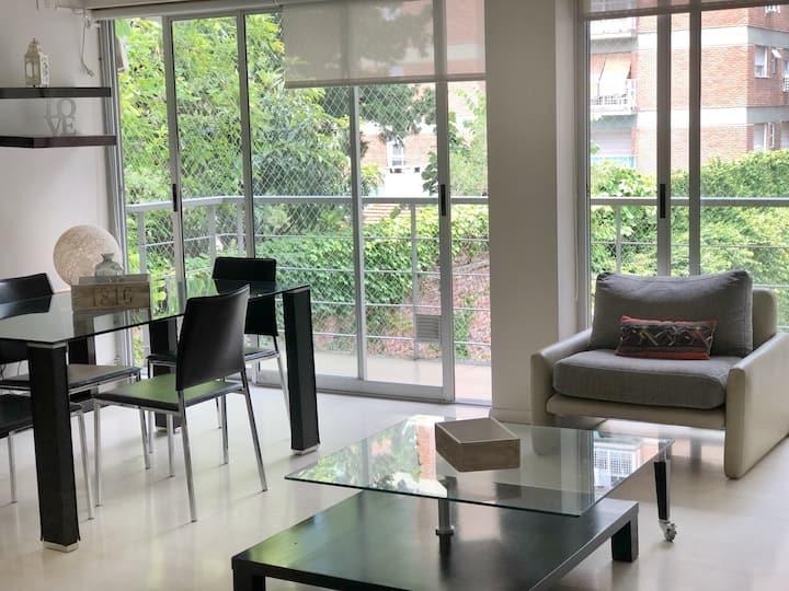 Moderno y cómodo depto  Belgrano R, opción cochera