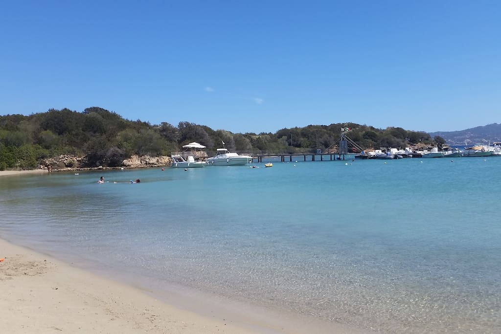 La spiaggia pubblica