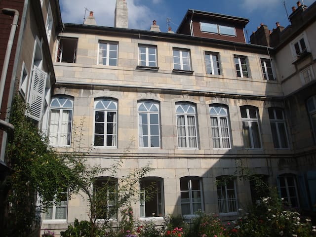 Fenêtre sur jardin - Besançon - Wohnung