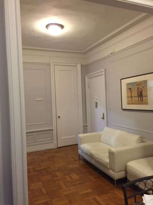 Entrance and Living Room