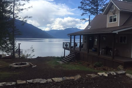 Life is Better on Kootenay Lake! - Gray Creek - Rumah