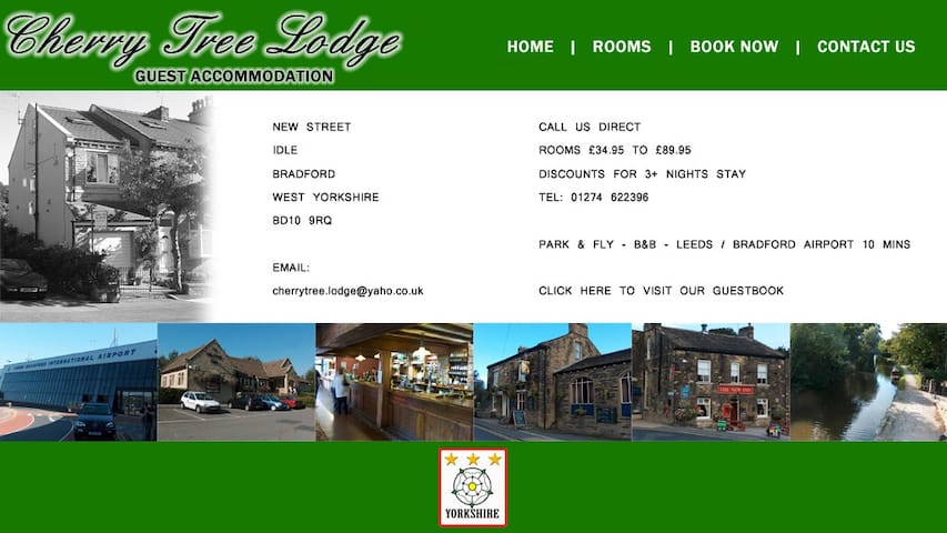 Cherrytree lodge , Idle Village location . BD10 - Брадфорд - Гостевой дом