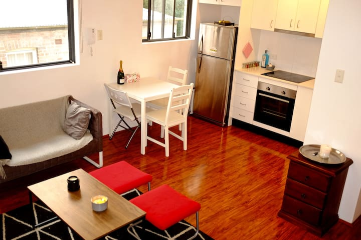 Double Bed Room in a cosy appartement in Sydney !