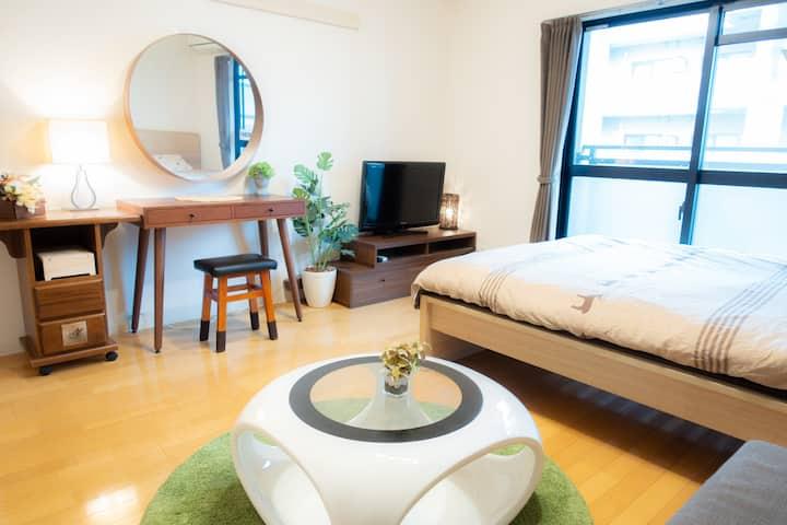 6/4min Kyoto sta & free Wifi
