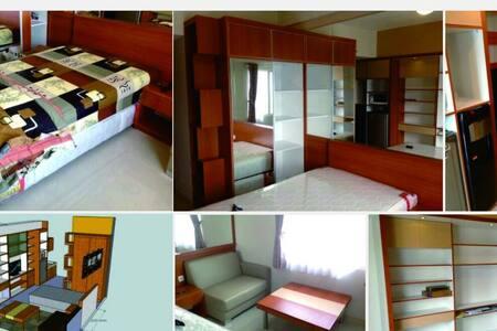 Pinewood Apartment Jatinangor 27th flr, nice view - Sumedang Regency - Daire