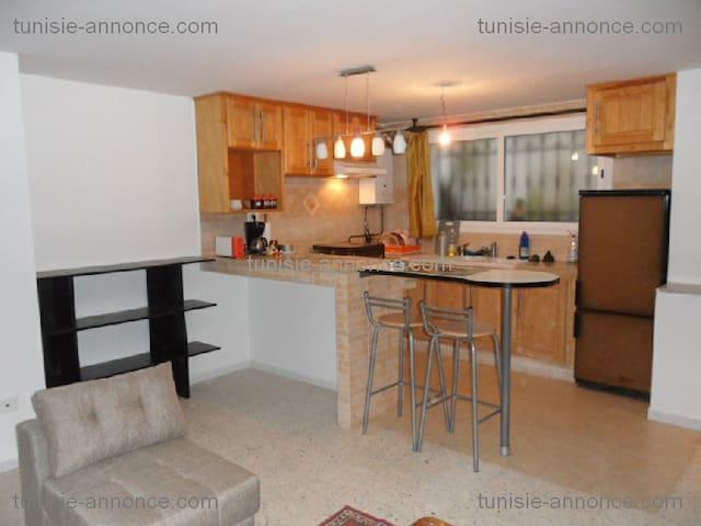 un appartement, meublé pour vacance en Tunisie - Ariana Supérieure - Apartamento