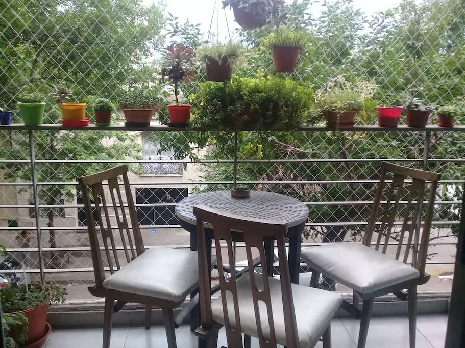 Nuestro Calido Balcon..