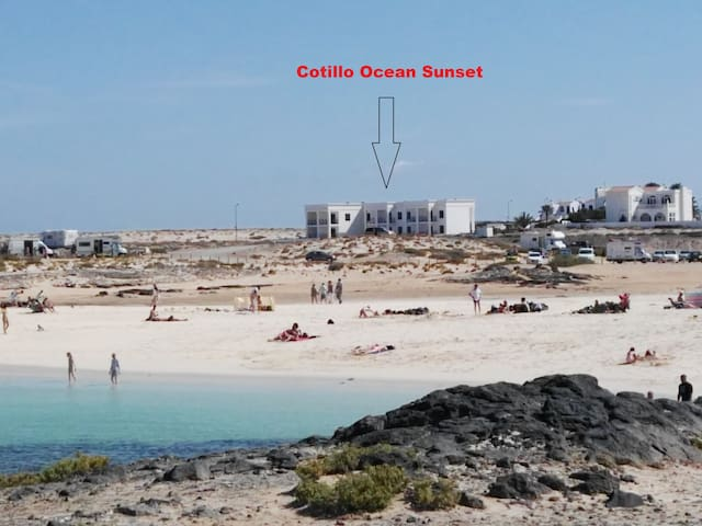 Ocean view apartments in Fuerteventura - Los Lagos - Wohnung
