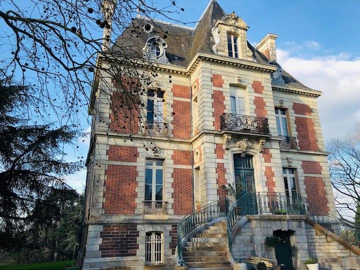 Chambre d'hôte au Château de Janzé - La suite