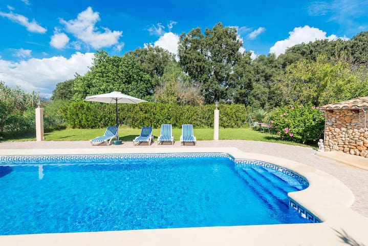 SA FIGUERA BLANCA - Villa for 4 people in Buger.