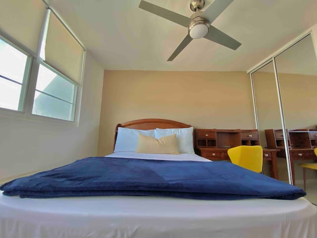 Third Bedroom includes comfortable double size bed.