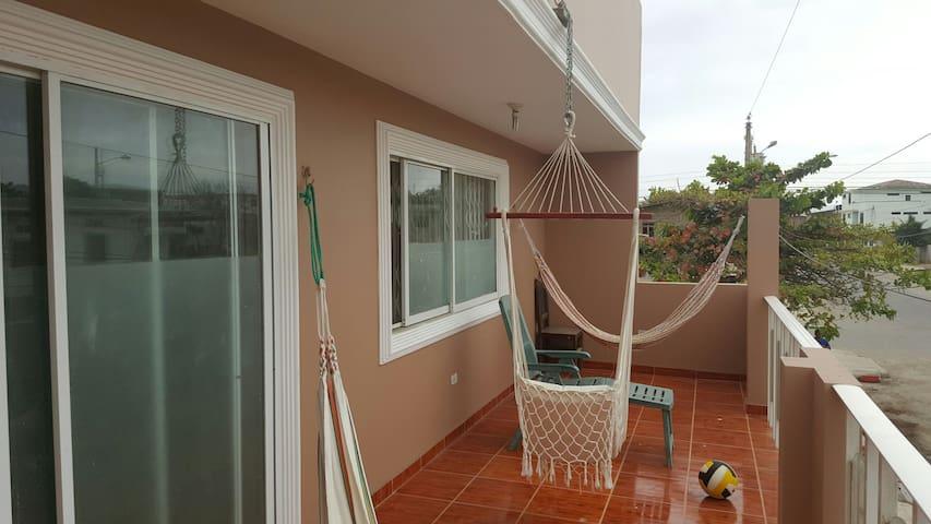 Hermosa casa de playa Ecuador - San Vicente - Rumah
