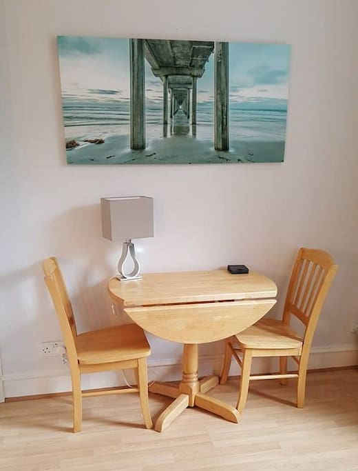 Dining Table located in Living Room