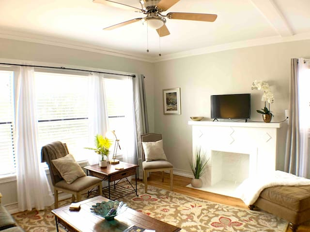 Bright DOWNTWN entire1/1apt with reserved parking