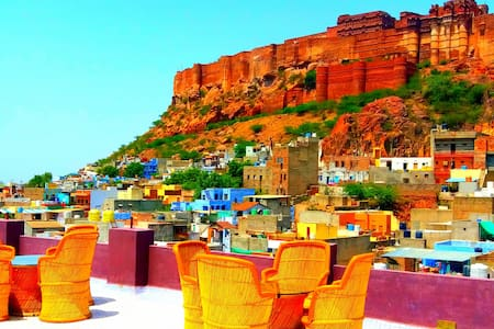 Jodhpur Heritage Haveli King Room with fort view