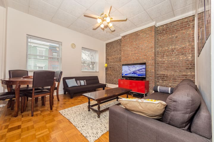 Lovely Hoboken Apartment w/Deck, close to NYC! - Hoboken - Pis