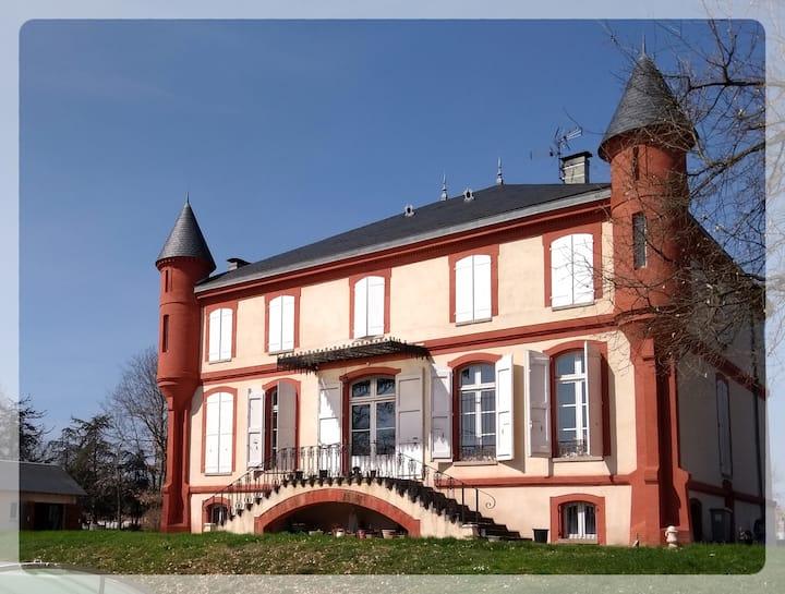 Chambres de Charme Château  - 15 min TOULOUSE Ctr