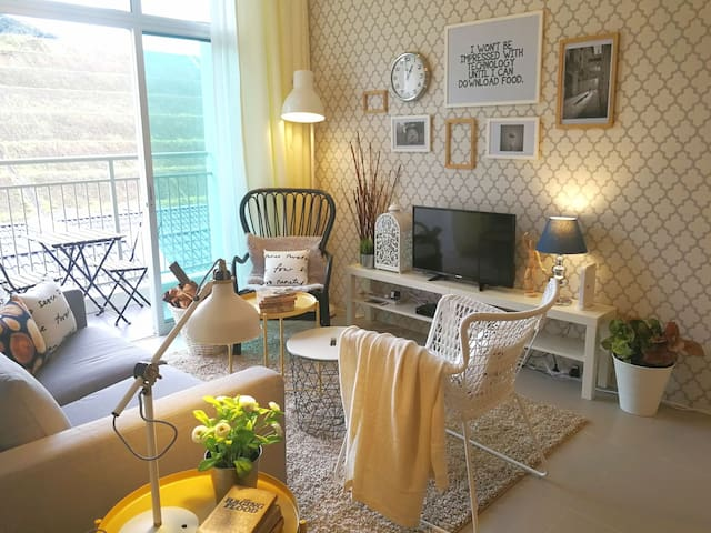 Scandinavian Home @ Cameron - Near to Night Market - Brinchang - Apartemen