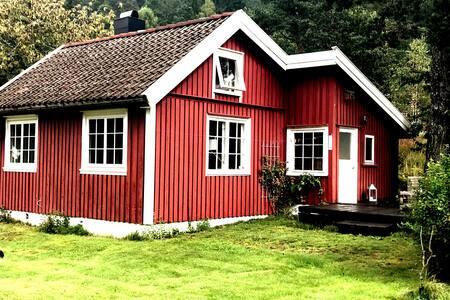 Barnevennlig gjestehus i nærheten av naturen