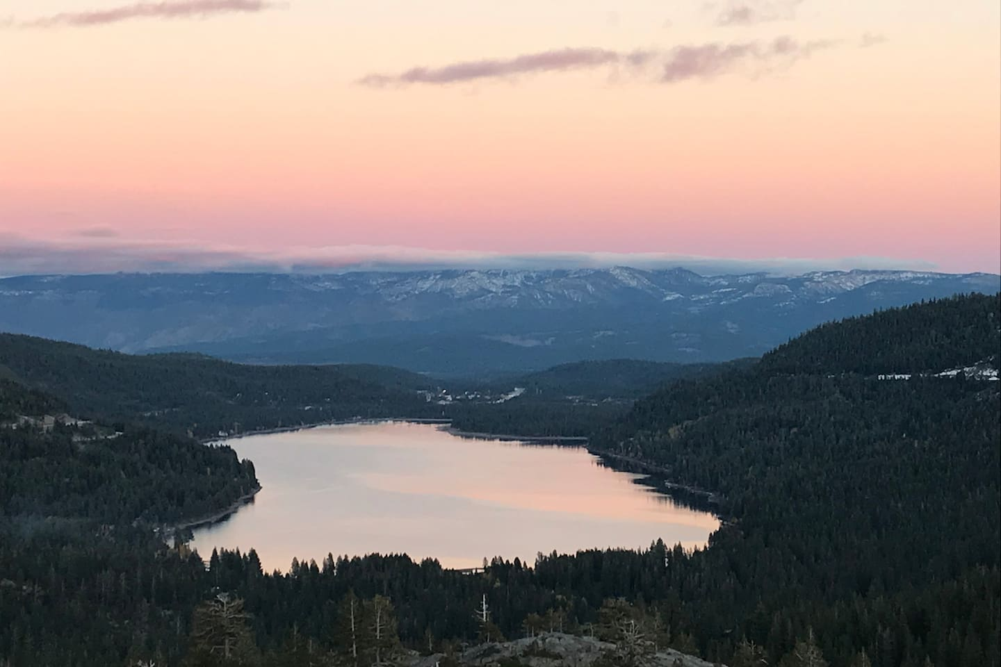 Donner Lake from Old Highway 40