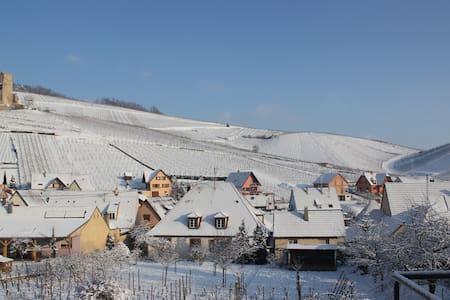 Dans le vignoble à 6km centre de Colmar - Katzenthal