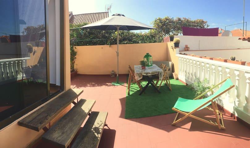 Apartamento con terraza/Mar a 5 min - Bajamar - Appartement