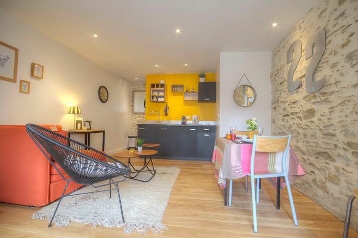 Duplex 35 m² à Trentemoult
